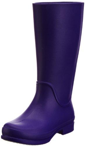 crocs Wellie Rain Boot W 12476-53A, Damen Gummistiefel, Violett (Ultraviolet/Oyster 53A), 34/35 (Herstellergröße: W5)