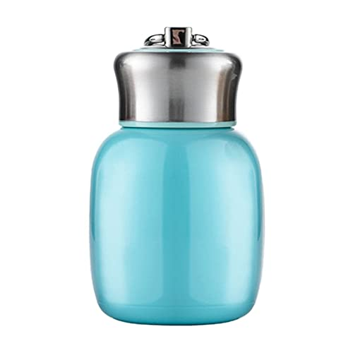XYAN Pequeña Capacidad Thermos Botella Aislada Cuerda Portátil Thermos Tvas Frascos de vacío Mini Botellas de Agua Lindas Aisladas Tazas (Color : Naranja)