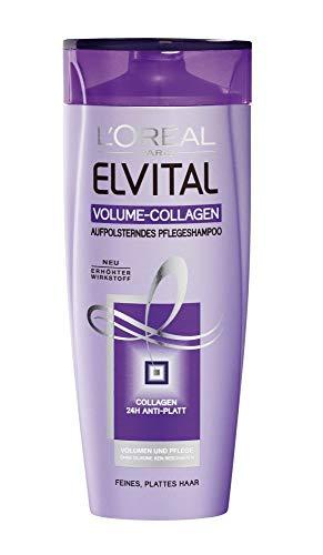 L'Oréal Elvive Shampoo - Volumen Collagen - für feines Haar - 6er Pack (6 x 250 ml)
