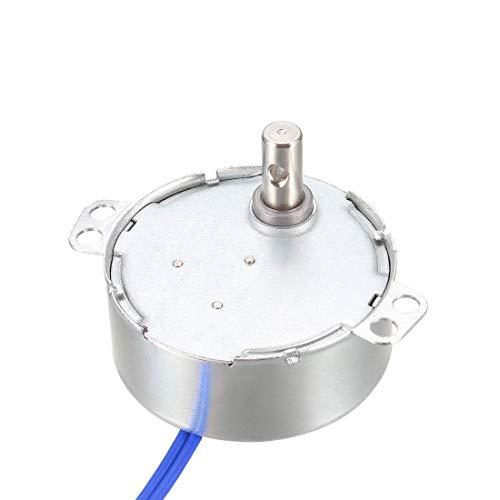 Motore sincrono elettrico a ingranaggio in metallo AC 100-127 V 30-36 RPM 50-60 Hz CCW/CW 4 W