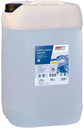 EUROLUB Destilliertes Wasser, 25 Liter