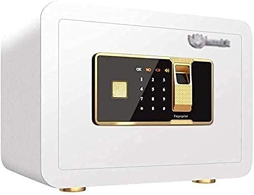 Cajas fuertes para el hogar, cajas de seguridad para dinero, caja fuerte digital con combinación de código y llave, caja de seguridad biométrica para huellas dactilares, caja fuerte oculta para docum