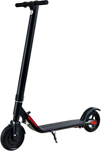 elrofu E-Scooter Furious 27 km/h Leistungstarker Elektro Roller E-Roller E Tretroller Elektroroller 350 Watt, 8,0 AH