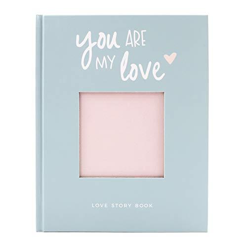 Odernichtoderdoch® Love Story Book inkl. Stickerbogen - Ausfüllbuch für Paare - 64 Seiten - 17 x 21,5 cm