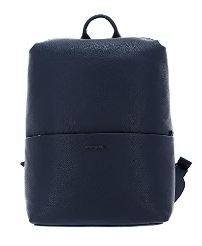 Mandarina Duck Mellow, Melow Leather Backpack/Dress Blue para Mujer, Talla única