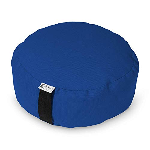 Bean Products Zafu Meditation Cushion - Round & XL Oval - Handcrafted in The USA with Organic...