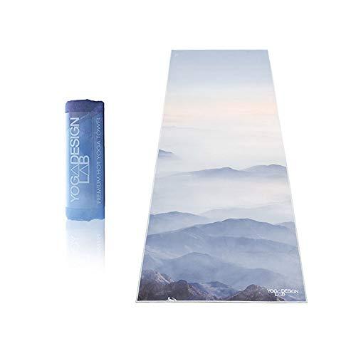 Yoga Design Lab   Toalla de Yoga   Suave y Acolchada   Antideslizante   Absorbente   Hecho de Microfibra de Botellas recicladas   Diseñada con tintas ecológicas (Kaivalya)