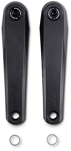 mächtig Cube RFR Pro E-Bike Fahrradkurbel, Schwarz: Größe: 160mm