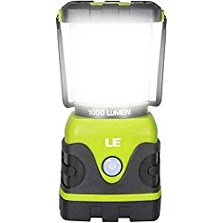 LE LED Camping Lantern, Battery Powered LED with 1000LM, 4 Light...