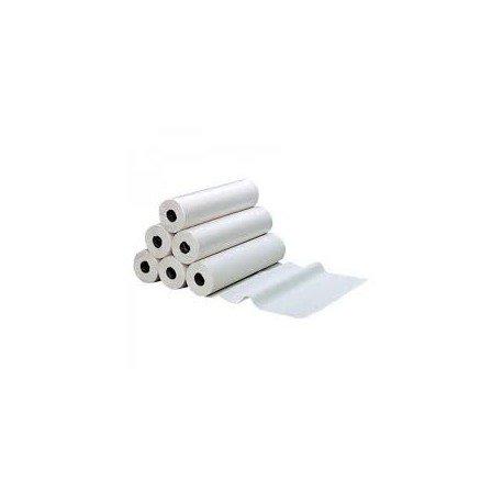 Draps D'examen Standard - Pure Ouate Blanche 2x18g/m² - Carton De 6 Rouleaux - 150 Formats - Dimension 50x38cm - Ft10066