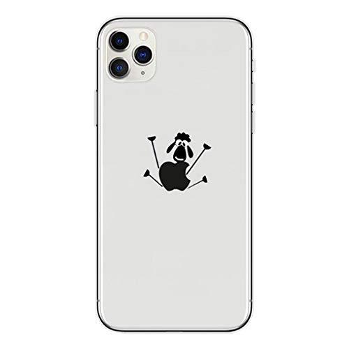 LPZOOOM Liquid Crystal Kompatibel mit iPhone 11 Pro Max Hülle, Ultra Transparent Weiche Dünn TPU Silikon Stoßfest Kratzfest Mode Chic Handyhülle für iPhone 11 Pro Max Slim Hülle Cover- Crystal Clear
