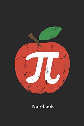 Notebook: Liniertes Notizbuch für Mathematik, Pi und Wissenschaft Fans - Notizheft Klatte für Männer, Frauen und Kinder