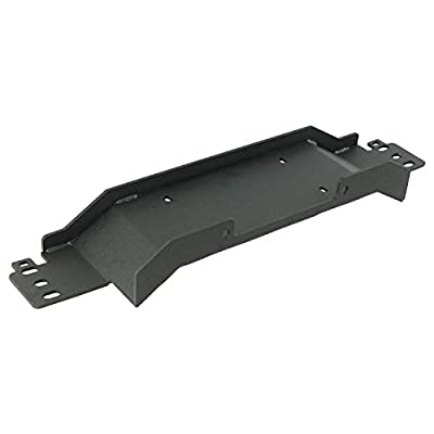 EAG Winch Mounting Plate for Jeep Wrangler YJ TJ LJ - 12000 lb Capacity
