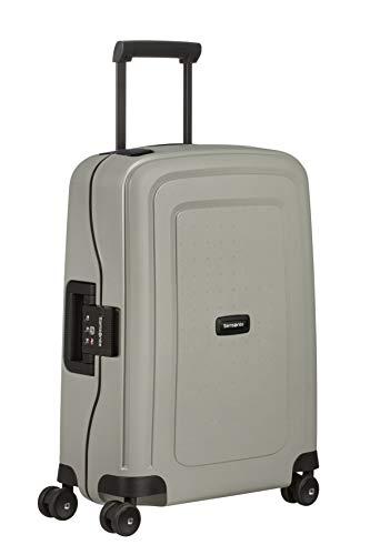 Samsonite S'Cure Eco - Spinner S, bagaglio a mano, 55 cm, 34 L, Grigio (Green Grey)