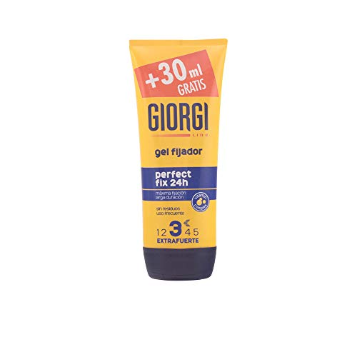 GIORGI LINE gel fijador perfect fix 24 hrs extrafuerte tubo 165 ml
