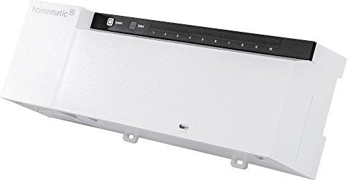 Homematic IP Fußbodenheizungsaktor – 10-fach, 230 V, intelligente Fußbodenheizung auch per App, 142981A0
