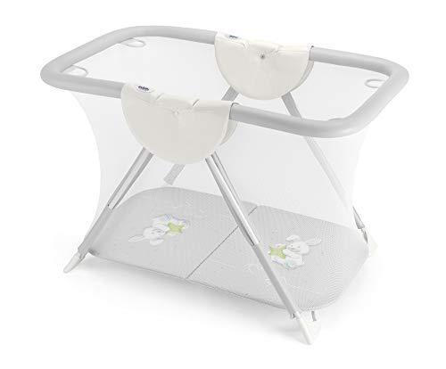 CAM Brevettato Parc de course pour bébé compact et pliable | Main courante résistante | Facile à nettoyer | Fabriqué en Italie