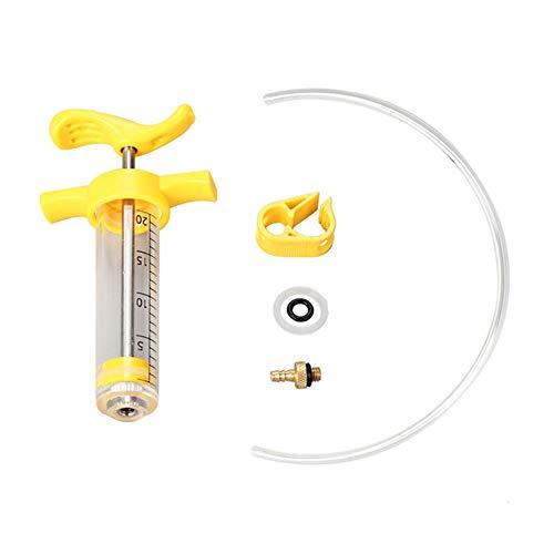 ,a Kit de purga de aceite de freno de disco hidráulico MTB Mountain Road Bike Herramientas de reparación