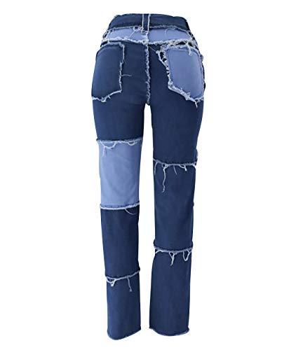 N \ A Pantalon Chandal Mujer Pantalon Senderismo Mujer Pantalones Cómodos Mujer Pantalones Termicos Mujer Pantalon Impermeable Mujer Pantalon Largo Mujer Pantalones De Mujer De Talla Grande Azul XS
