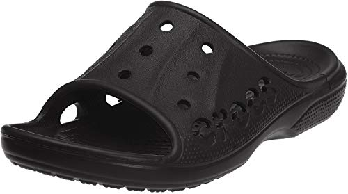Crocs Baya Slide, Sandales Mixte Adulte, Noir (Black) 36/37 EU