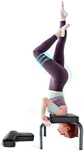 YOLEO Yoga Kopfstandhocker Kopfstandstuhl abnehmbar Hilfe 150kg Tragfähigkeit mit...