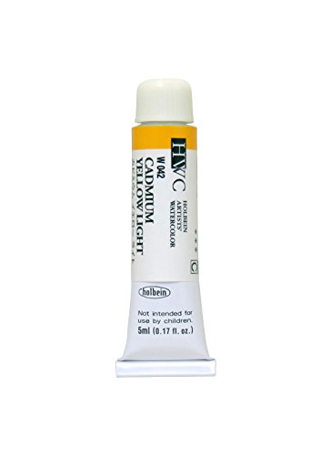 Holbein Artists' Watercolors - Cadmium Yellow Light - 5ml Tube