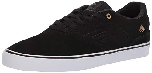 Emerica Men's The Reynolds Low Vulc Shoes,10,Black Raw