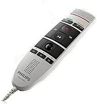 Philips SpeechMike III Pro (Push Button Operation) USB Professional PC-Dictation Microphone LFH-3200