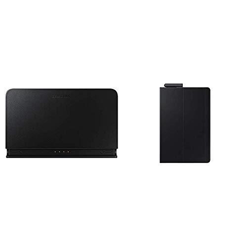 Samsung EE-D3100T Charging Dock Pogo Schwarz & Tablettasche Bookcover für Galaxy Tab S4 26,67 cm (10,5 Zoll) Schwarz