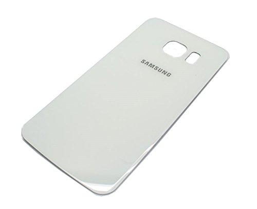 Ilovemyphone Tapa Bateria para Samsung Galaxy S6 G920F Color Blanco Bateria Back Cover Trasera