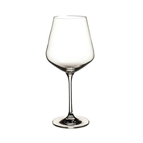 Villeroy & Boch La Divina set di bicchieri da vino rosso, 470 ml, 4 pezzi, cristallo, trasparente