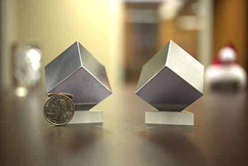 Conjunto de 2 cubos (38,1 mm) de tungsteno (W) y aluminio (A