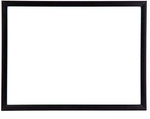 U Brands Magnetic Dry Erase Board, 17 x 23 Inches, Black Wood Frame (307U00-01)