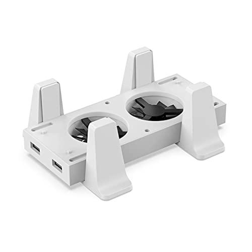 YUZI Soporte de base de enfriamiento de host multifunción Componente de juego Ventilador de enfriamiento Soporte vertical Radiador Compatible con consola de juegos X-box Serie S