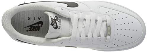 Nike Air Force 1 '07 AN20, Zapatillas de bsquetbol Hombre, White Black, 44 EU