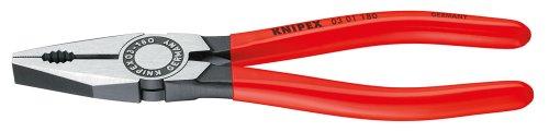 KNIPEX 03 01 180 EAN Alicate universal negro atramentado