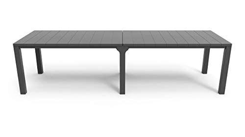 Keter Julie Double Table, Graphit