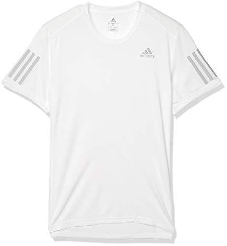 [アディダス] ランニング 半袖 レスポンス クライマクール Tシャツ EEO05 メンズ ホワイト(FM5803) 日本 J/XS (日本サイズXS相当)