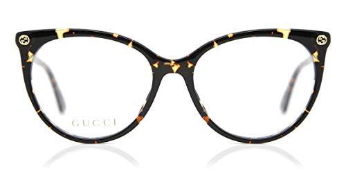 Eyeglasses Gucci GG 0093 O- 002 002 AVANA / AVANA, 53/17/140
