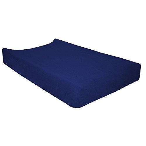 Garessi 9205 – Housse pour matelas à langer réglable 80 x 50 cm bleu marine