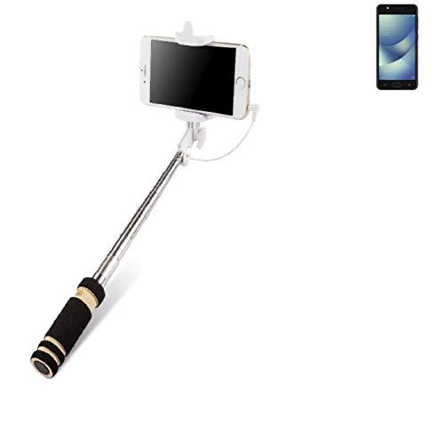 K-S-Trade® Per ASUS ZenFone 4 Max 5.2 Zoll Bastone Selfie Selfiestick Asta Autoritratto Telescopica Fotografico Monopiede Selfie Stick