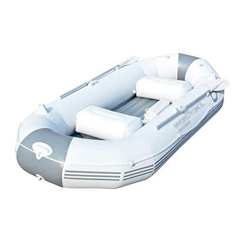 ZHAOJCQC Opblaasbare kajak voor 3 personen, opblaasbare boot, van rubber, waterdicht, aluminium rubberboot