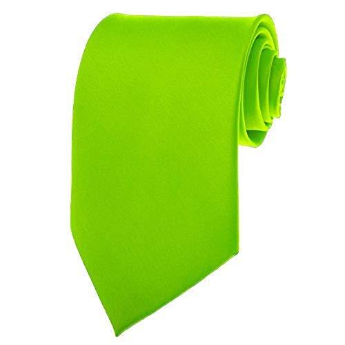 neon color neck ties - 1