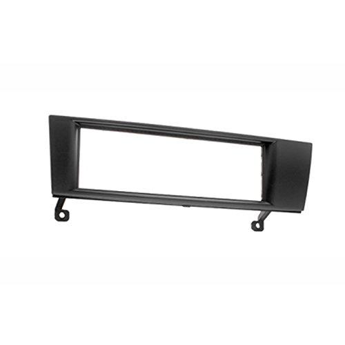 Carav 11-052 Kit d'installation de façade d'autoradio 1-DIN pour Série 3 (E90/91/92/93) 2004-2012 ; Série 1 (E87/81/82/88) 2004-2014 ; X1 (E84) 2009-2015 ; Z4 (E89) 2009+