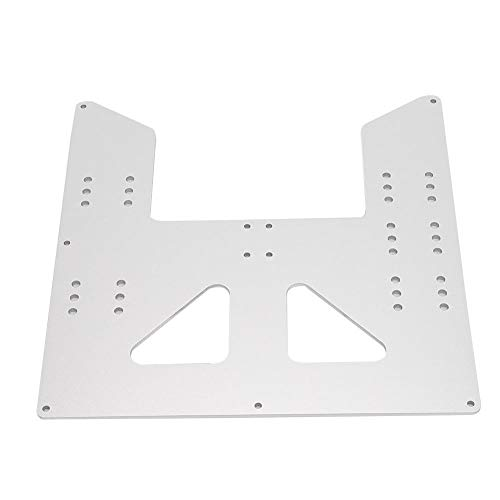 3D Printer Carriage Plate, SC8UU Sliding Block Set Fits Aluminum Z Carriage Plate Upgrade for Prusa I3 Anet A8 A6 3D Pri