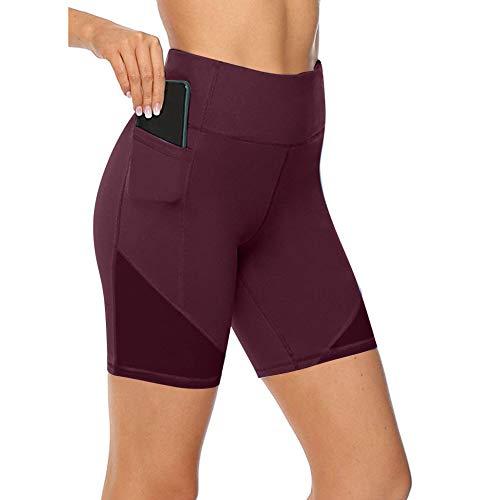 NIGHTMARE Leggings Sexis de Gimnasio de Cintura Alta para Mujer, Pantalones de Yoga de Cintura Alta, Mallas de Entrenamiento para Correr, Estiramiento y Entrenamiento M