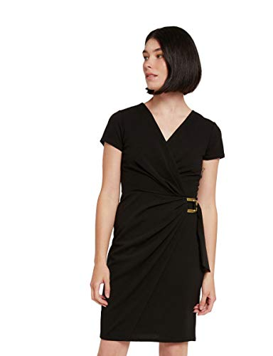 Morgan 201-RKEIRA.P Vestido, Negro, 42/Alto para Mujer
