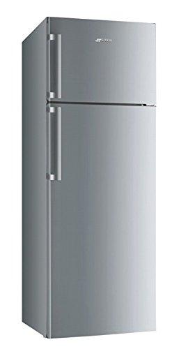 Smeg FD43PXNF3 Libera installazione 357L A+ Acciaio inossidabile frigorifero con congelatore