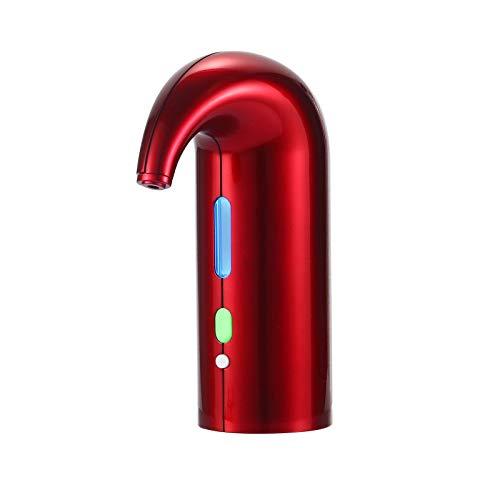 LJJOO Decantador de vino tinto, collero magnético de vino inteligente, decantador electrónico inteligente, herramienta de cocina doméstica, adecuado para cocina restaurante y bares Abridores eléctrico