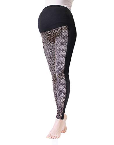 Mia maternity - Leggings spécial grossesse - Femme zigzag S